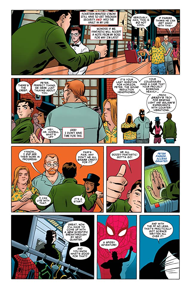 click for super-sized previews of Amazing Spider-Man (1999-2013) #658