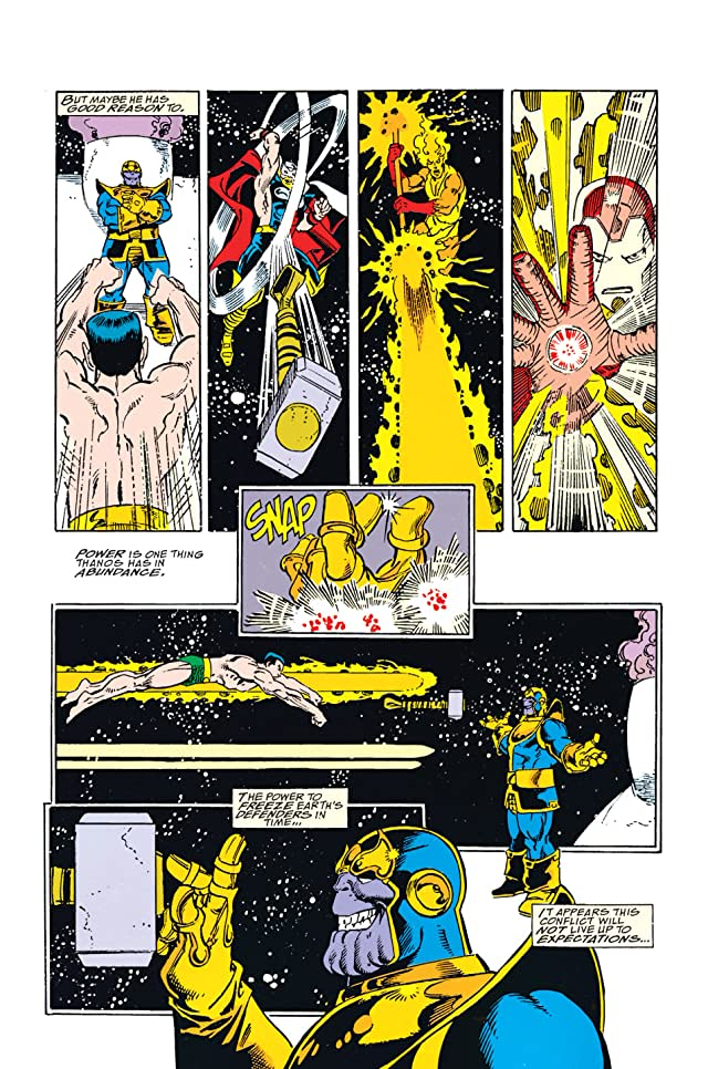 Infinity Gauntlet #4 (of 6)