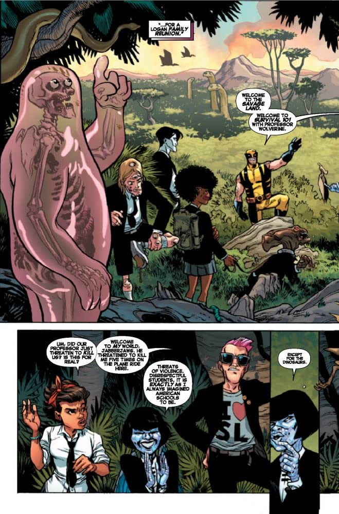 Preview: Wolverine and the X-Men #25 – Page 1 - comiXology