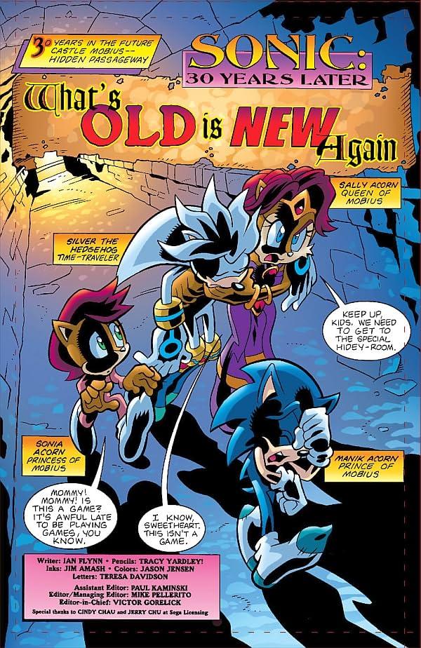 Sonic Universe #1 Preview - Comic Book Preview - Comic Vine