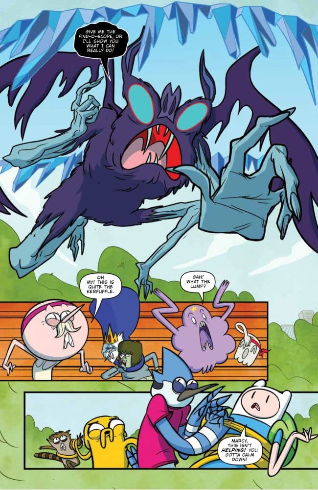 Preview: Adventure Time/Regular Show #2 – Page 1