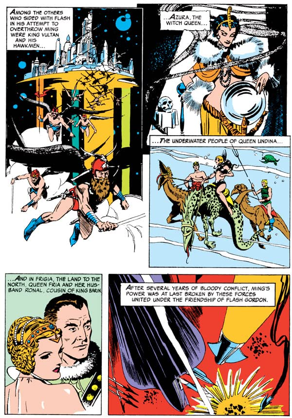 Skyla.... absolute comic flash gordon strip wrong