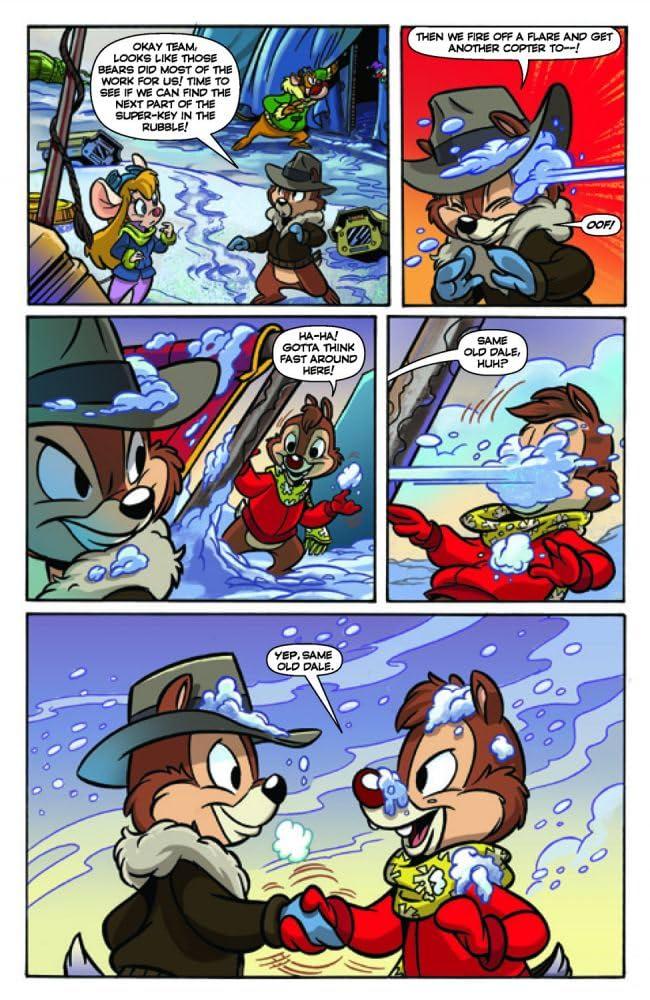 Комиксы чип и дейл