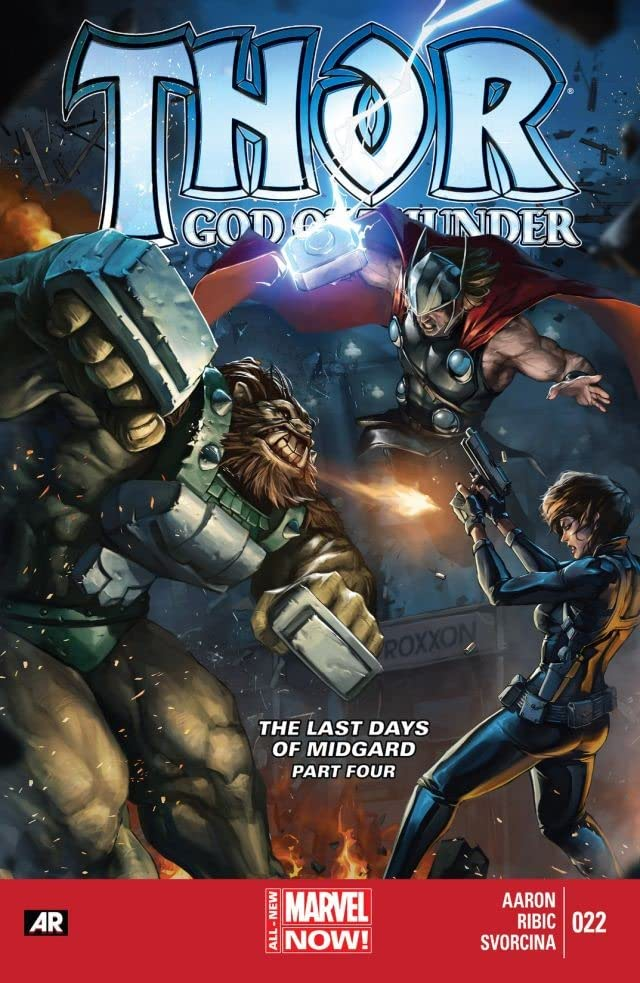 Thor: God of Thunder #22