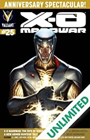 X-O Manowar (2012- ) #25: Digital Exclusives Edition
