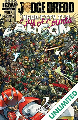 Judge Dredd: Mega-City Two #5 (of 5)