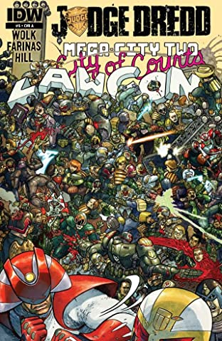 Judge Dredd: Mega-City Two No.5 (sur 5)