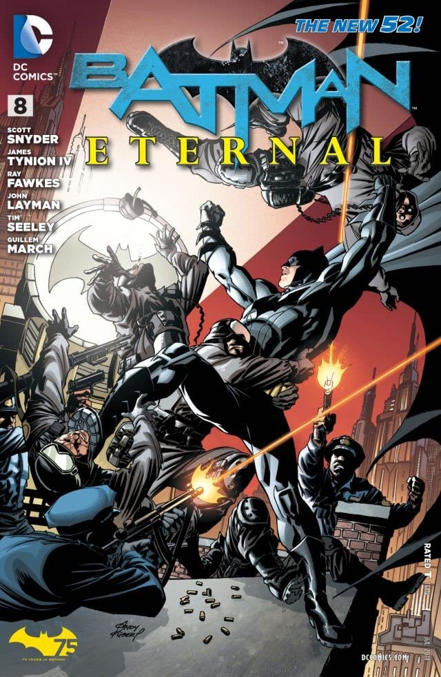 Batman Eternal (2014-2015) #8
