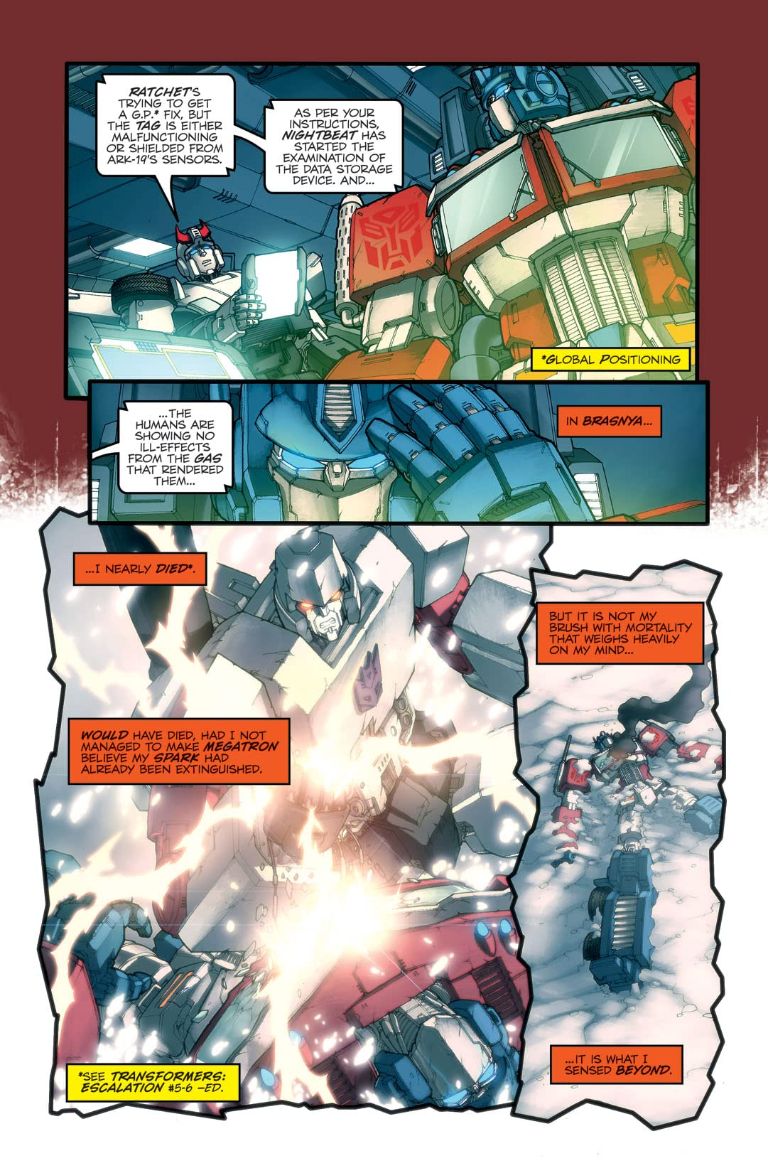 Transformers: Spotlight - Optimus Prime