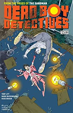 The Dead Boy Detectives (2013-2014) No.6