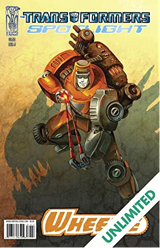 Transformers: Spotlight - Wheelie