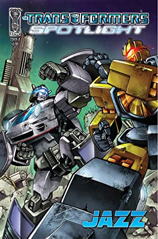 Transformers: Spotlight - Jazz