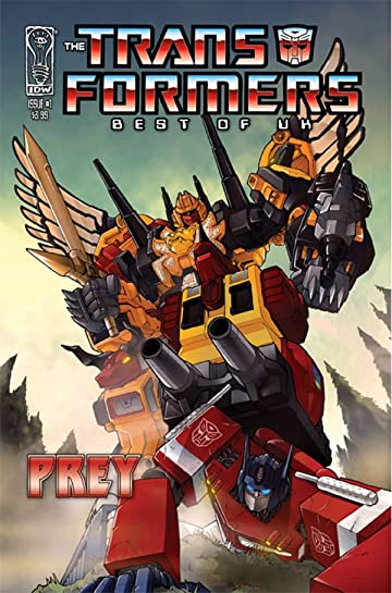 Transformers: Best of UK - Prey #1 (of 5)