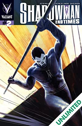 Shadowman: End Times #2 (of 3): Digital Exclusives Edition