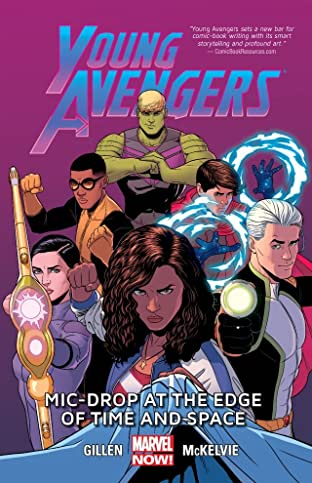 Young Avengers Tome 3: Mic-Drop At The Edge Of Time And Space