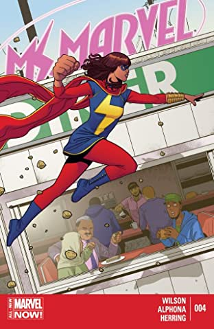 Ms. Marvel (2014-2015) No.4
