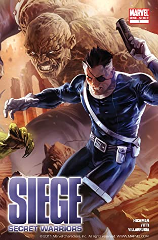 Siege: Secret Warriors No.1