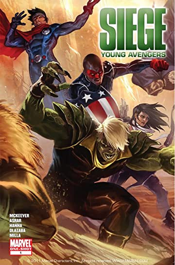 Siege: Young Avengers #1