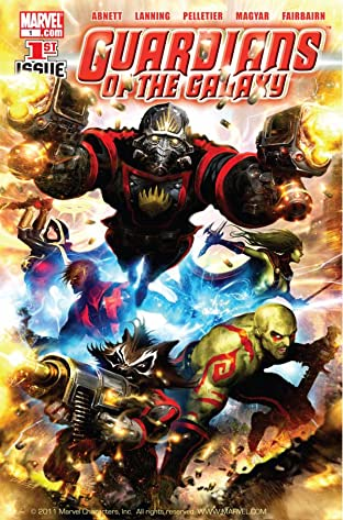 Guardians of the Galaxy (2008-2010) No.1