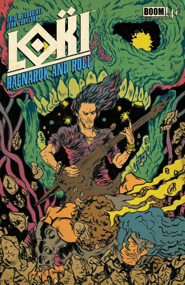 Loki: Ragnarok and Roll #4 (of 4)