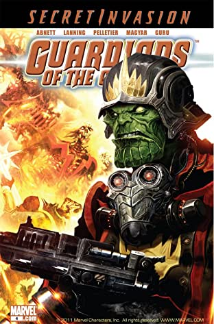 Guardians of the Galaxy (2008-2010) No.4