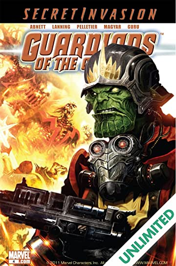 Guardians of the Galaxy (2008-2010) #4