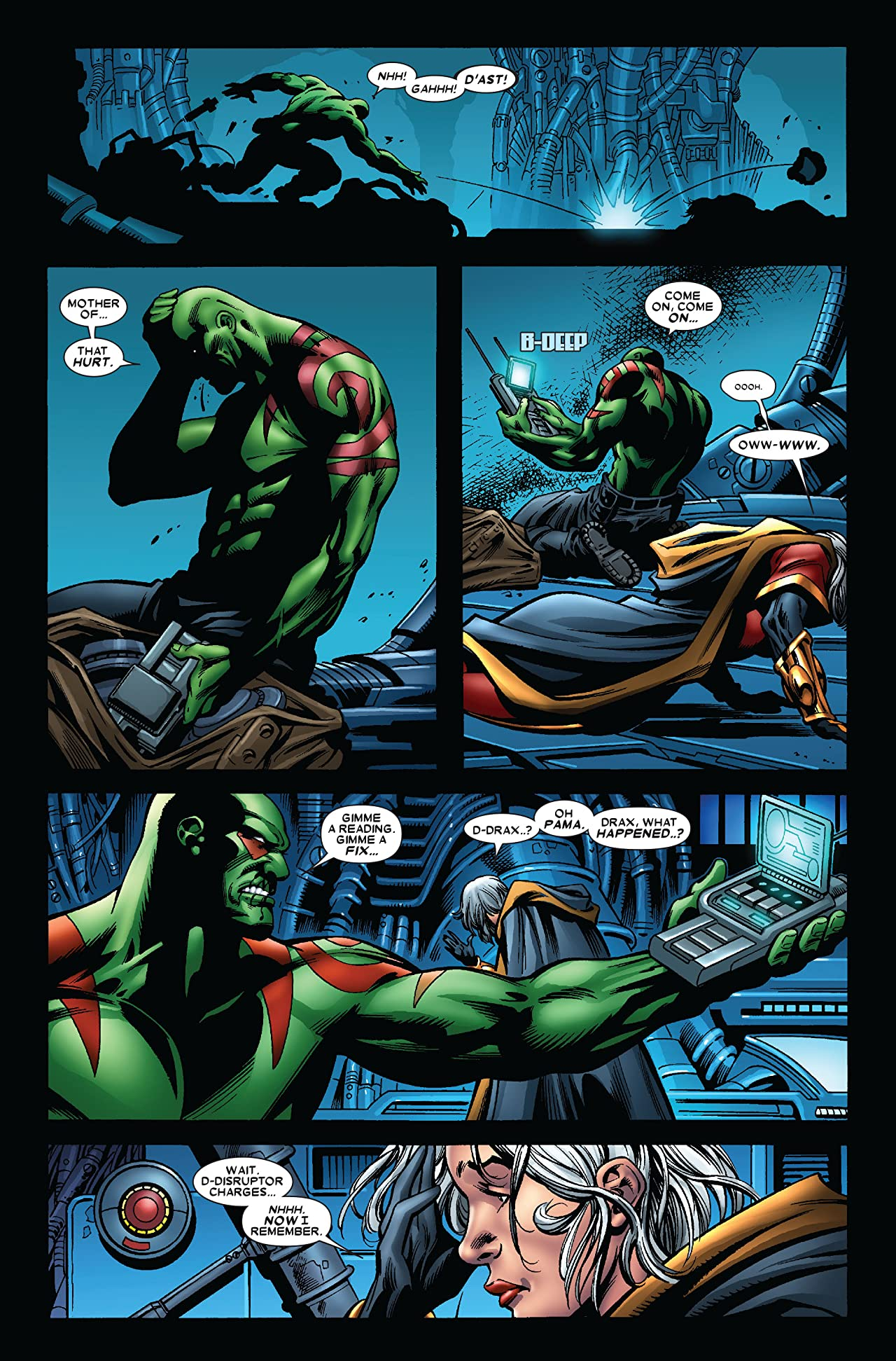 Guardians of the Galaxy (2008-2010) #6