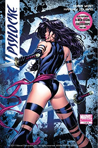 X-Men: Psylocke No.1 (sur 4)