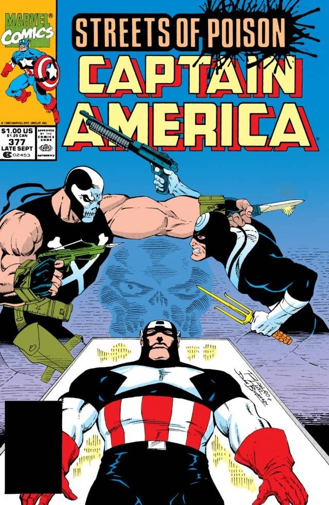 Captain America (1968-1996) #377
