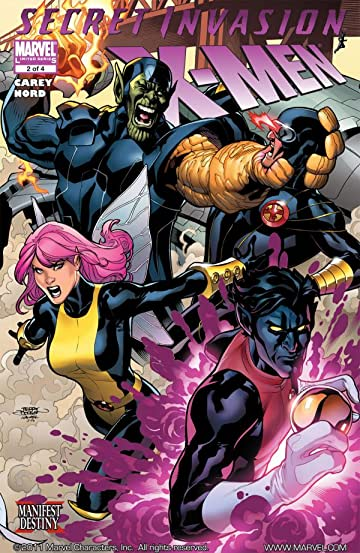 Secret Invasion: X-Men #2 (of 4)
