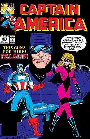 Captain America (1968-1996) #381