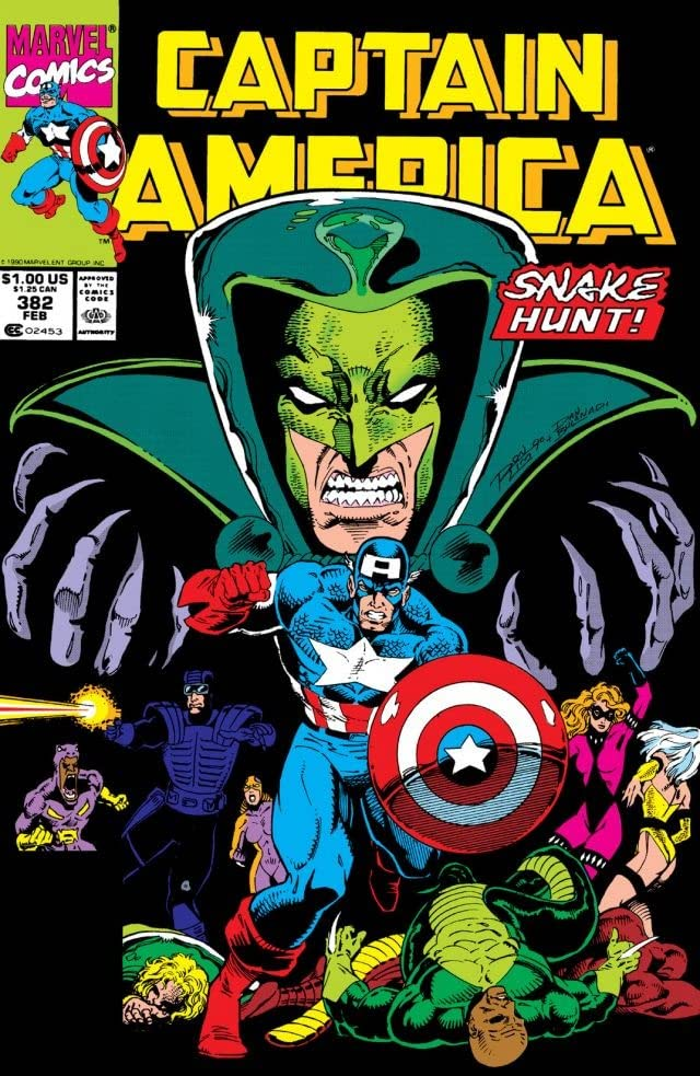 Captain America (1968-1996) #382