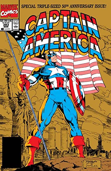 Captain America (1968-1996) #383