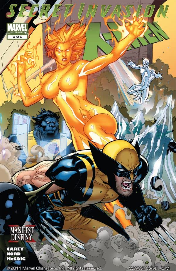 Secret Invasion: X-Men #4 (of 4)