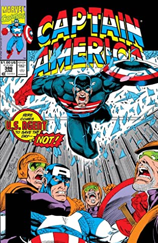 Captain America (1968-1996) #386