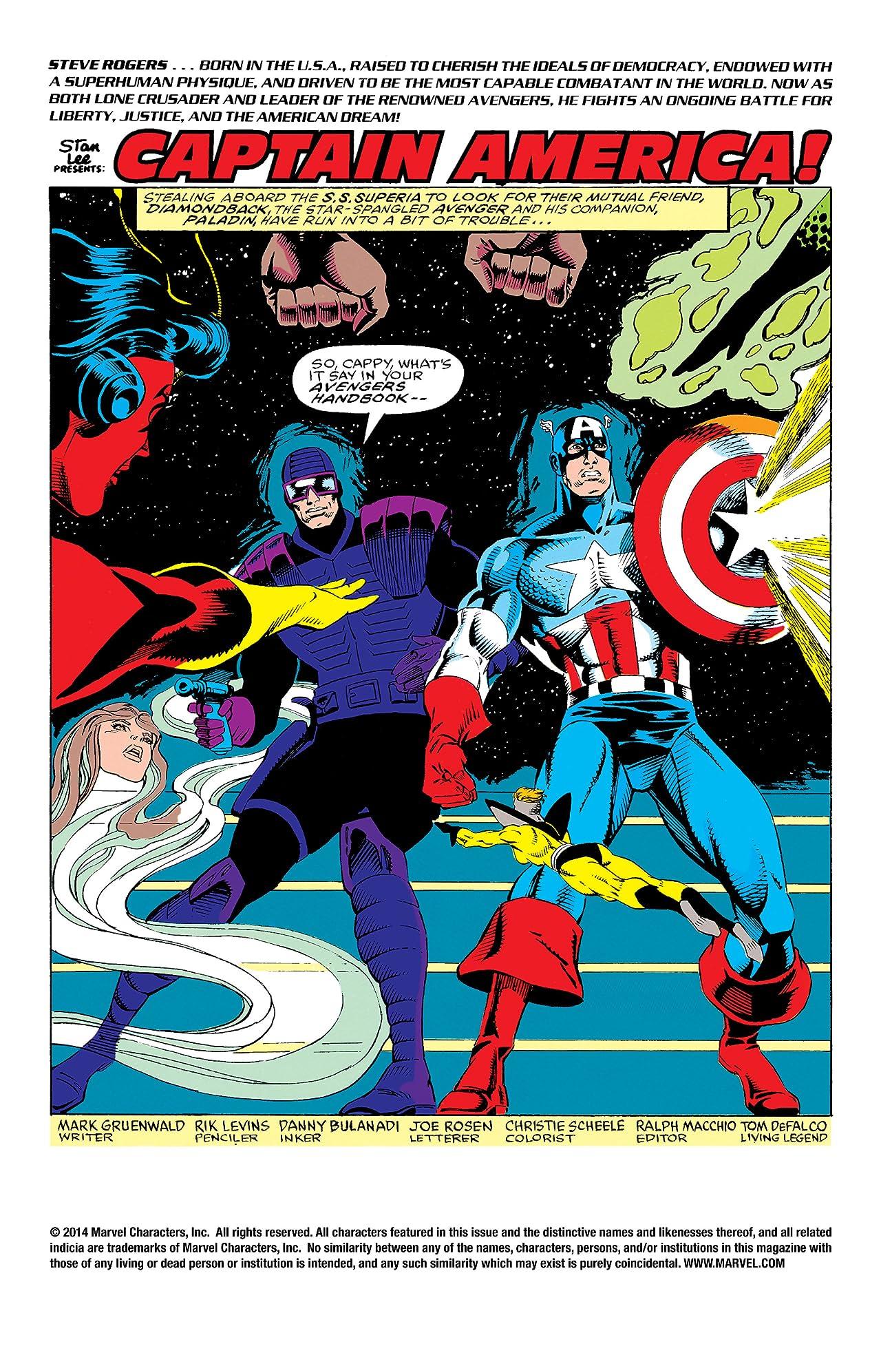 Captain America (1968-1996) #390