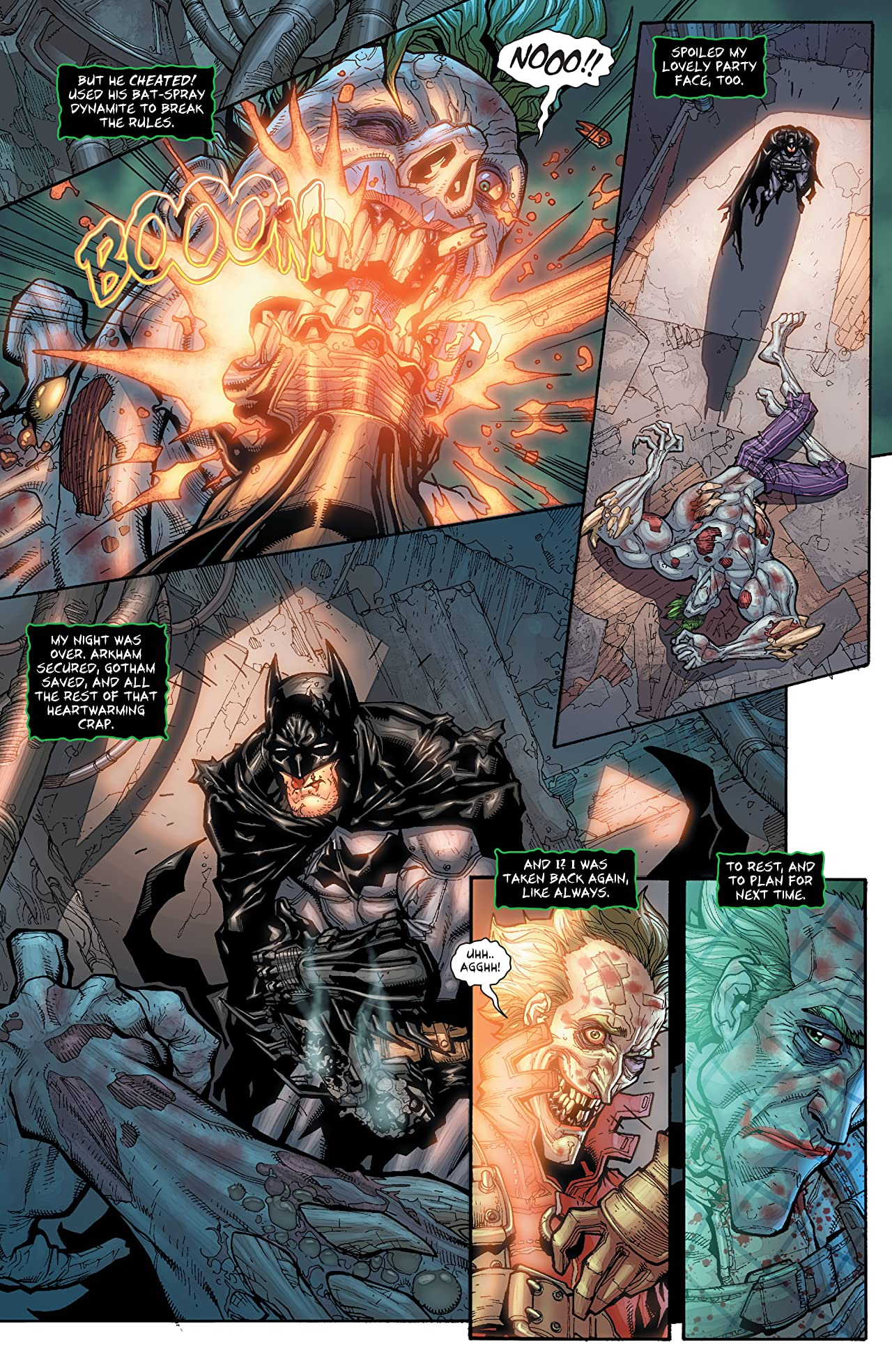 Batman: Arkham City #1 (of 5)