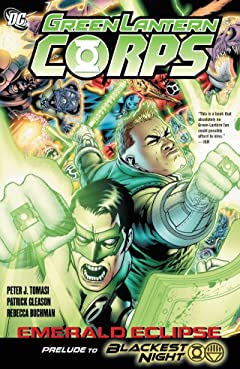 Green Lantern Corps (2006-2011): Emerald Eclipse