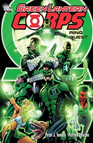 Green Lantern Corps (2006-2011): Ring Quest
