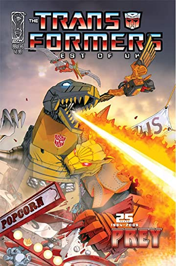 Transformers: Best of UK - Prey #5 (of 5)