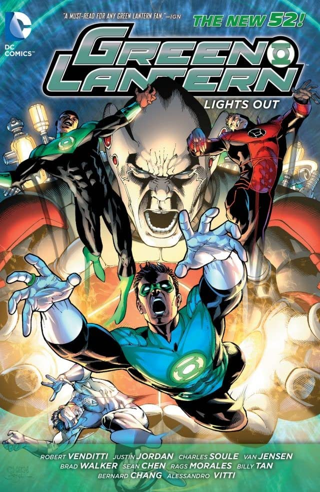 Green Lantern (2011-): Lights Out