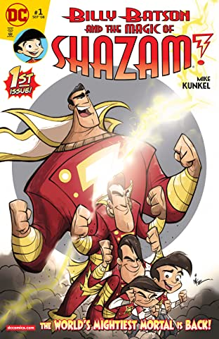 Billy Batson and the Magic of Shazam! No.1