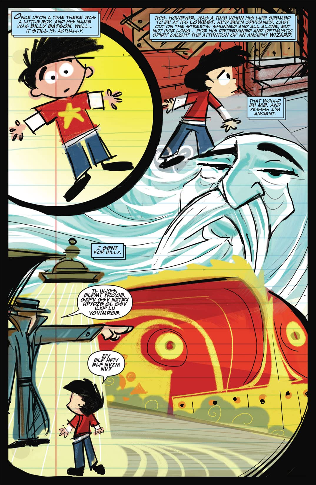 Billy Batson and the Magic of Shazam! #1