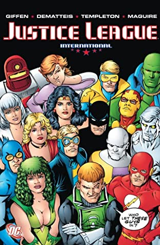Justice League International Tome 4