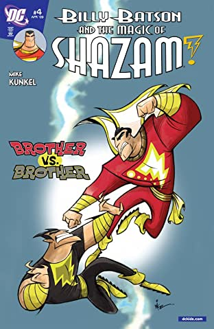 Billy Batson and the Magic of Shazam! No.4