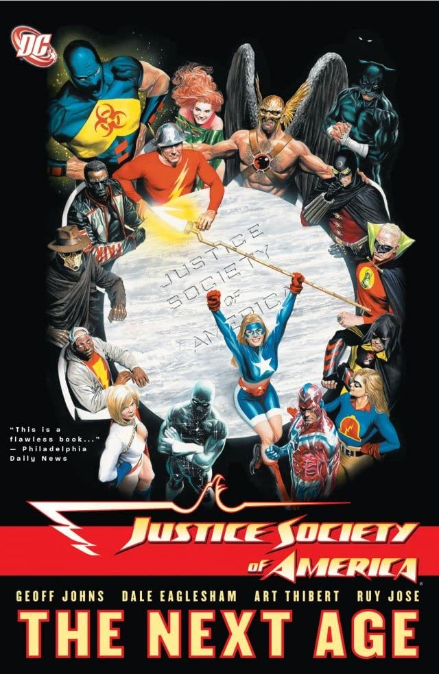 Justice Society of America (2007-2011) Vol. 1: The Next Age