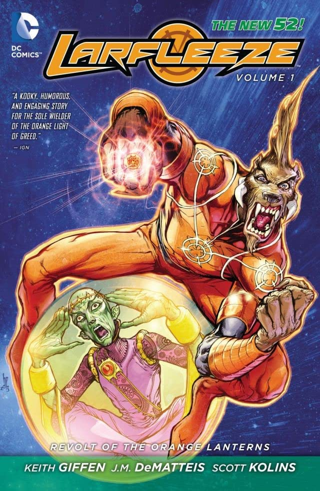 Larfleeze (2013-2015) Vol. 1: Revolt of the Orange Lanterns