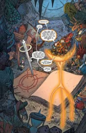Larfleeze (2013-2015) Vol. 1: Revolt of the Orange Lanterns