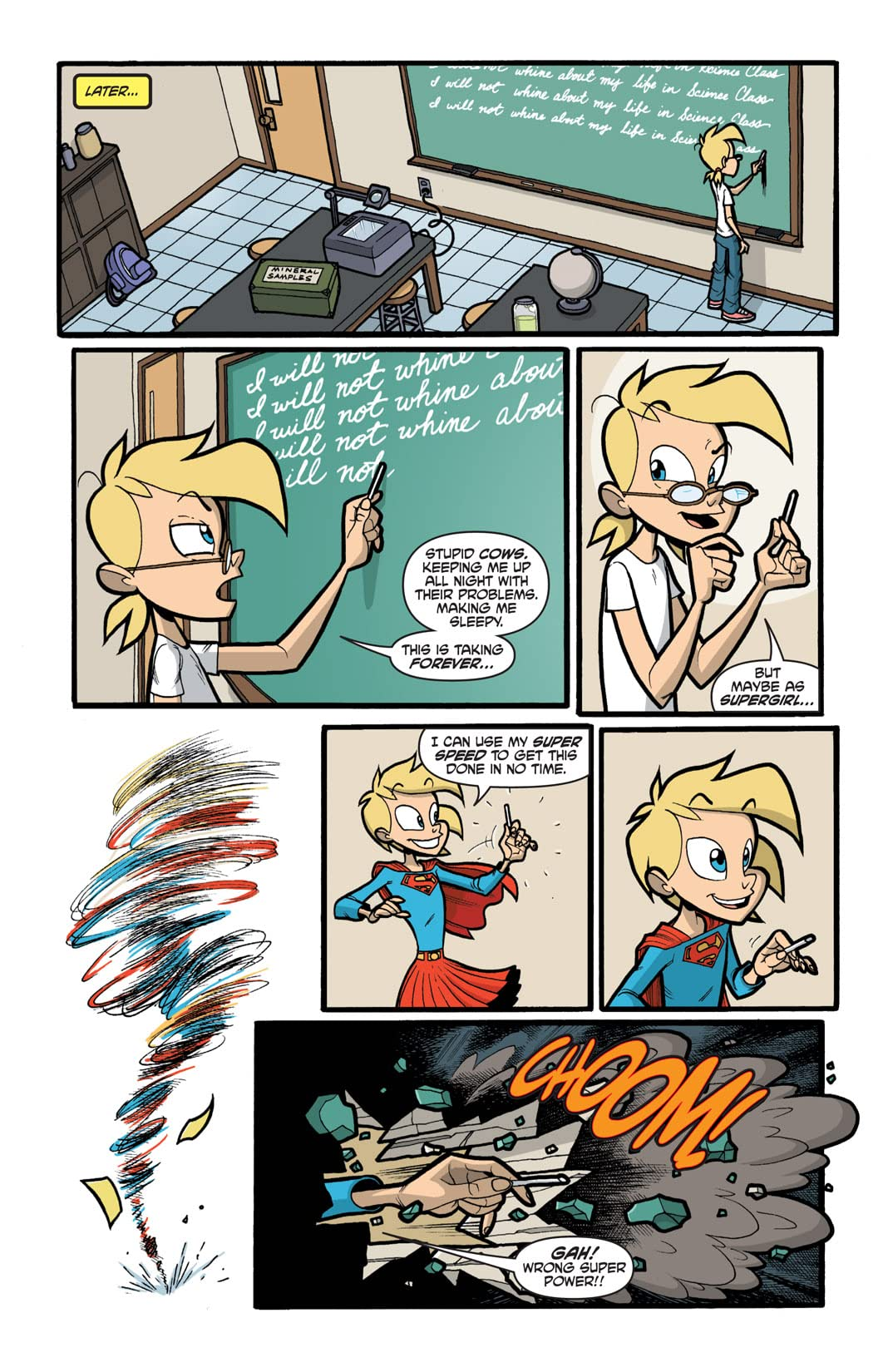 Supergirl: Cosmic Adventures in the 8th Grade #2 (of 6)