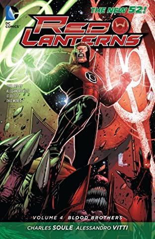 Red Lanterns (2011-2015) Vol. 4: Blood Brothers